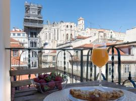 Prima Collection - Santa Justa 79 Luxury Apartments, Ferienwohnung in Lissabon