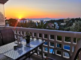 Sea view apartment in Rafina