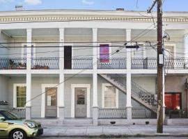 The Montgomery Apartments on Magazine Street