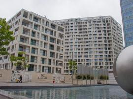 Austria Center, UNO City apartments