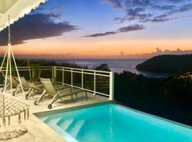 villa with pool and sea view (MQAA16)