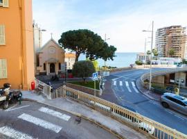 Monte-Carlo BRAND NEW Apartment WiFi ,AC, Sea View