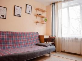 Квартира-Студия в Солнцево, отель в Москве, рядом находится Музей традиционных русских напитков «Очаково»