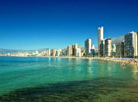 TROPIC MAR Levante beach apartments, hotel con piscina en Benidorm