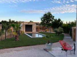 Villa contemporaire avec piscine au nord d'Aix-en-provence