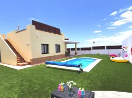 Villa Laura, centro de Caleta de Fuste