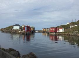 Rooms in the coastal fishing village Nyksund