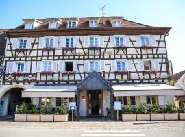 Hôtel Restaurant L'Auberge Alsacienne, hotel in Eguisheim