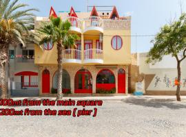 Hostels Holiday Capo Verde, hostel in Santa Maria