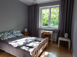 Przestronny apartament z 2 sypialniami, pet-friendly hotel in Wrocław
