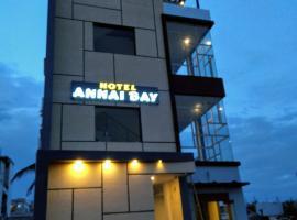 Hotel Annai Bay, beach hotel in Velānganni
