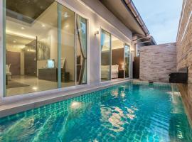 AnB Poolvilla Modern 3BR Jomtien at The ville in Pattaya
