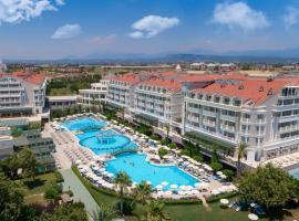 Trendy Aspendos Beach Hotel, hotel with jacuzzis in Side