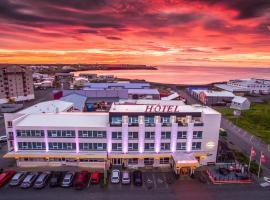 Hotel Tjarna Keflavik Airport、Njarðvíkのホテル