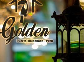 Hotel Golden Inn, hotel with jacuzzis in Puerto Maldonado