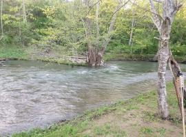 Creek Haven creek bank