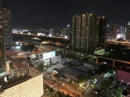 Bangkok Never Sleeps:Luxury Condominium,City Center,Infinity Pool, Sunbathing,Sauna