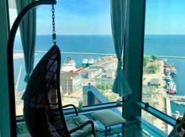 Penthouse Sea Towers - Luksusowy Dwupoziomowy z Tarasem