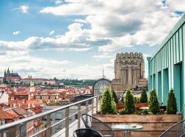 Wenceslas Square Terraces, Ferienwohnung in Prag