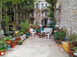Tbilisi Center Apartment with Terrace