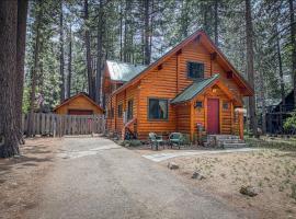 Charming Log Cabin at Al Tahoe