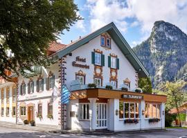 AKZENT Hotel Turmwirt ***S, hotel in Oberammergau