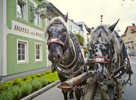 Holiday Apartments by Das Grüne Hotel zur Post - 100 % BIO & Villa Ceconi, apartment in Salzburg