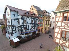 Gîte La Jouvence - Cœur de Riquewihr - 4 personnes, hotel in Riquewihr