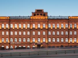 AZIMUT Отель Тульская Москва, отель в Москве, рядом находится Битцевский Лесопарк