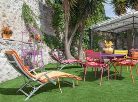 SETE maison de ville avec jardin clos