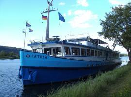 Hotelschip MS Patria