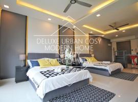 Deluxe Urban Cosy Home@KL(2~7pax) Infinity Pool