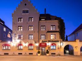 Romantik Hotel & Restaurant Fürstenhof, hotel in Landshut