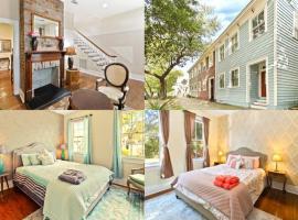 Savannah Magic 3-bedroom Townhouse on Forsyth