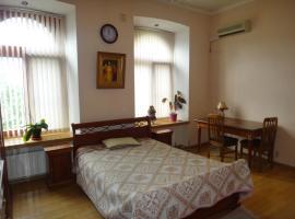 Гостевой дом Robinhouse, отель в Москве, рядом находится Храм Христа Спасителя