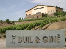 Hotel-Celler Buil & Gine, hotel in Gratallops