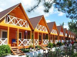Морская деревня,деревянные домики, 1 линия, дом для отпуска в Витязеве
