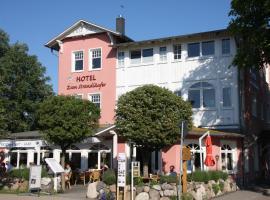 Ferienhotel Alter Bahnhof, hotel in Prerow