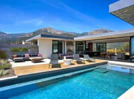 New Listing! Luxe Hilltop Home: Epic Views & Pool Home