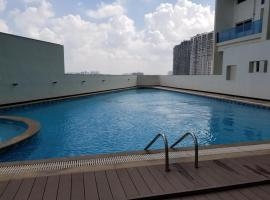 Luxury 2bhk @Prime location with Pool SPA Theater GYM