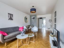 Bright apartment close to the center of Paris