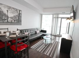 35th Floor with Balcony & Parking In The Heart Of Downtown Toronto