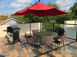 Brand new family home with glorious BBQ terrace
