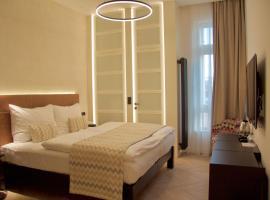 Chevron Hotel – hotel w pobliżu miejsca Willa Bertramka w Pradze
