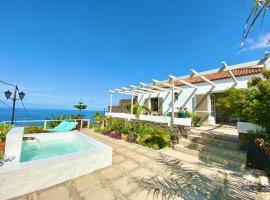 Exclusiva Casa Canaria con Magníficas Vistas al Mar