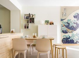 Apt in Bilbao city center, families and groups