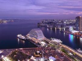 Kobe Meriken Park Oriental Hotel, luxury hotel in Kobe