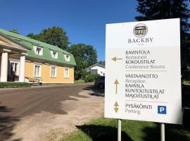 Backbyn Kartano, hotel near Stockmann Department Store, Espoo