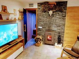 3 Z. moderne Wellnesswohnung - Sauna, Kamin