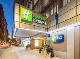 Holiday Inn Express Philadelphia-Midtown, hotel with pools in Philadelphia